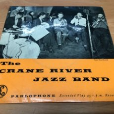 Discos de vinilo: EP THE CRANE RIVER JAZZ BAND /T'AINT NOBODY'S BIZINESS IF I DO/SLOW DRAG BLUES/ LILY OF THE VALLEY. Lote 234628585