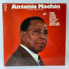 Discos de vinilo: LP - VINILO ANTONIO MACHIN - COMO SIEMPRE - VOL 3 - ESPAÑA - AÑO 1974. Lote 234645200