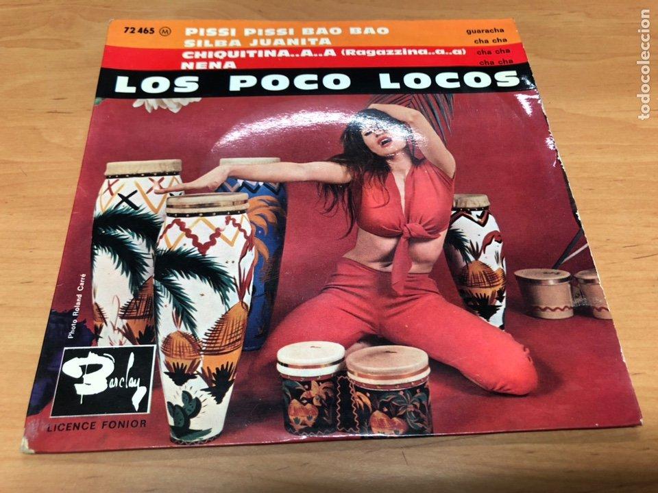 EP LOS POCO LOCOS/ PISSI PISSI BAO BAO/SILVA JUANITA/CHIQUITINA/ NENA EDICION FRANCESA (Música - Discos de Vinilo - EPs - Grupos y Solistas de latinoamérica)