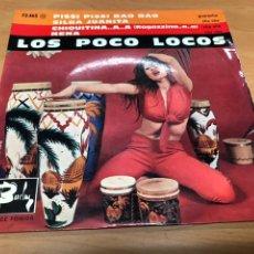 Discos de vinilo: EP LOS POCO LOCOS/ PISSI PISSI BAO BAO/SILVA JUANITA/CHIQUITINA/ NENA EDICION FRANCESA. Lote 234650030