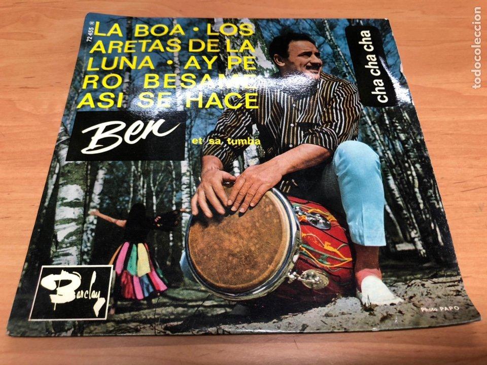 EP BEN/ LA BOA / LOS ARETAS DE LA LUNA/ AY PERO/ ASI SE HACE / EDICION FRANCESA (Música - Discos de Vinilo - EPs - Grupos y Solistas de latinoamérica)