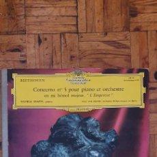 Discos de vinilo: BEETHOVEN* – WILHELM KEMPFF, PAUL VAN KEMPEN - ORCHESTRE PHILHARMONIQUE DE BERLIN* – CONCERTO N° 5. Lote 234667585