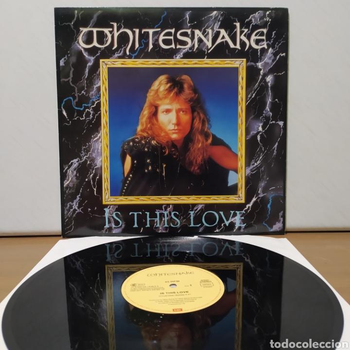 WHITESNAKE - IS THIS LOVE 1987 ED ALEMANA (Música - Discos de Vinilo - Maxi Singles - Heavy - Metal)