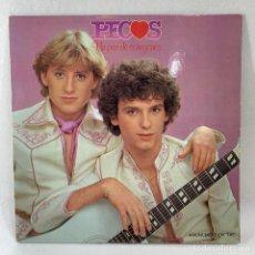 Discos de vinilo: LP - VINILO LOS PECOS - UN PAR DE CORAZONES - ESPAÑA - AÑO 1979. Lote 234709285