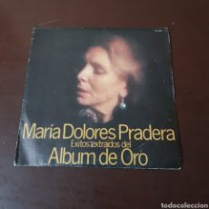 Discos de vinilo: MARIA DOLORES PRADERA - EXITOS EXTRAIDOS DEL ALBUM DE ORO. Lote 234715510