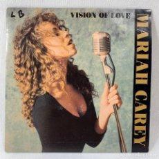 Discos de vinilo: SINGLE PROMOCIONAL MARIAH CAREY - VISION OF LOVE - ESPAÑA - AÑO 1990. Lote 234715850