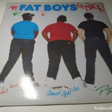 Discos de vinilo: LP - FAT BOYS – THE FAT BOYS ARE BACK - SUS 1016 (VG+ / VG+) US 1985. Lote 234716520