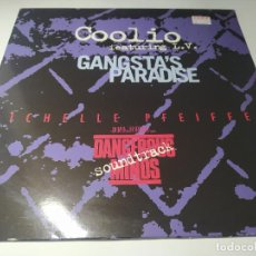 Discos de vinilo: MAXI - COOLIO FEATURING L.V. ‎– GANGSTA'S PARADISE - MCT 33537 (VG+ / VG+) EURO 1995. Lote 234725905