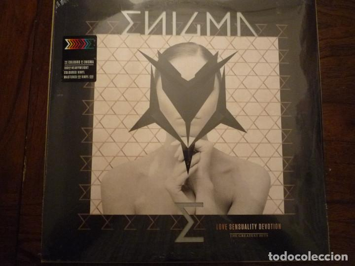 "ENIGMA ""LOVE SENSUALITY DEVOTION (THE GREATEST HITS)"" 2 LP UNIVERSAL 2018 (Música - Discos - LP Vinilo - Electrónica, Avantgarde y Experimental)"