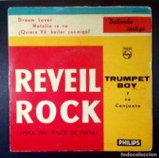 Discos de vinilo: TRUMPET BOY Y SU CONJUNTO - REVEIL ROCK - EP 1960 - PHILIPS. Lote 234731310