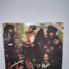 Discos de vinilo: MAXI 1984,SPAIN GRANDMASTER MELLE MEL & THE FURIOUS FIVE - WE DON'T WORK FOR FREE. Lote 234733130