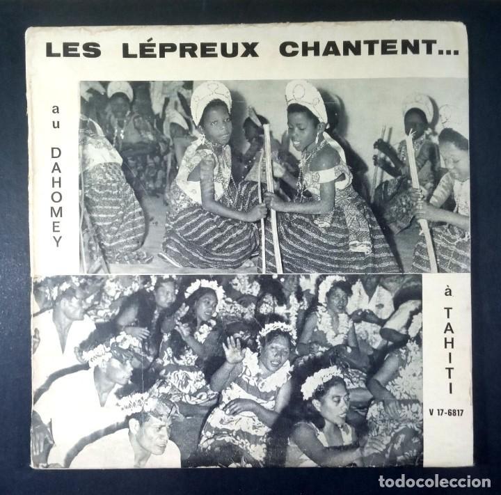 LES LEPREUX CHANTENT AU DAHOMEY - À TAHITI - SINGLE FRANCES 33RPM - VOXIGRAVE (Música - Discos - Singles Vinilo - Étnicas y Músicas del Mundo)