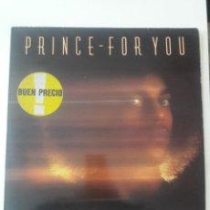 Discos de vinilo: PRINCE – FOR YOU WARNER BROS. RECORDS – 56989 REEDICIÓN ESPAÑOLA 1987. Lote 234647775
