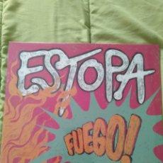 """Discos de vinilo: ESTOPA """" FUEGO """". 2009. NUEVO, PRECINTADO.. Lote 234759335"""