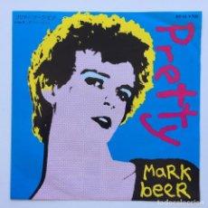 Discos de vinilo: MARK BEER – PRETTY / PER(VERSION) JAPAN,1981 ROUGH TRADE. Lote 234761445
