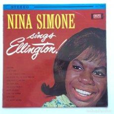 Discos de vinilo: NINA SIMONE – NINA SIMONE SINGS ELLINGTON JAPAN,1962 COLPIX RECORDS. Lote 234769430