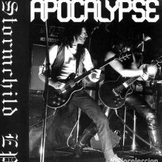 Discos de vinilo: APOCALYPSE - STORMCHILD EP - 12'' [BURIED BY TIME AND DUST RECORDS, 2010 · LIM. 500] NWOBHM. Lote 234772125
