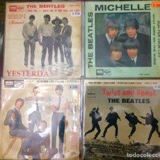 Discos de vinilo: THE BEATLES. 4 EPS.. Lote 234779415