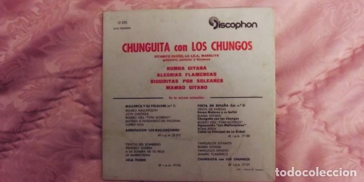 Discos de vinilo: CHUNGUITA CON LOS CHUNGOS-EP RUMBA GITANA +3 - Foto 2 - 234784020