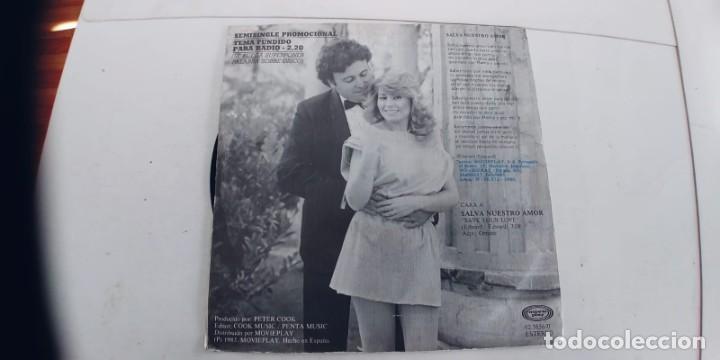 Discos de vinilo: CARLO Y CARLA-SINGLE SALVA NUESTRO AMOR - Foto 2 - 234784260