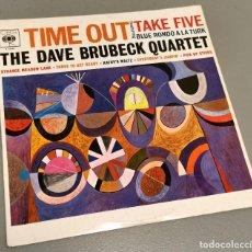 Discos de vinilo: NUMULITE * THE DAVE BRUBECK QUARTET TIEM OUT TAKE FIVE BLUE RONDO A LA TURK LP T9. Lote 234795565