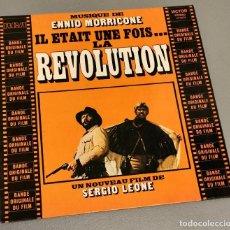 Discos de vinilo: NUMULITE LP002 ENNIO MORRICONE EL ETAIT UNE FOIS LA REVOLUTION SERGIO LEONE. Lote 234796260