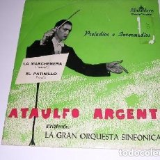 Discos de vinilo: ATAULFO ARGENTINA PRELUDIOS E INTERMEDIOS. Lote 234801365