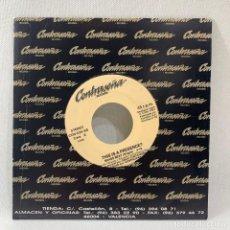 Discos de vinilo: SINGLE PROMOCIONAL THIS IS A PRESENCE - BRASS BEAT - ESPAÑA - AÑO 1993. Lote 234815830