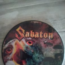 "Discos de vinilo: SABATON "" SCREAMING EAGLES "". SINGLE PICTURE DISC. 2011 . NUCLEAR BLAST. MADE IN GERMANY.. Lote 234818145"