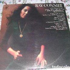 Discos de vinilo: LP RAY CONNIFF - LOVE THEME FROM THE GODFATHER / EL PADRINO. Lote 234819655