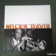 Discos de vinilo: MILES DAVIS -MILES DAVIS- LP BLUE NOTE BLP 1501 REEDICION (PLANETA DEAGOSTINI ) NUEVO. Lote 234821275