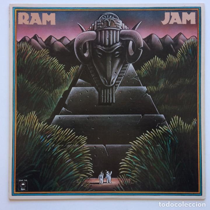 RAM JAM – RAM JAM JAPAN,1977 EPIC (Música - Discos - LP Vinilo - Pop - Rock - Internacional de los 70)