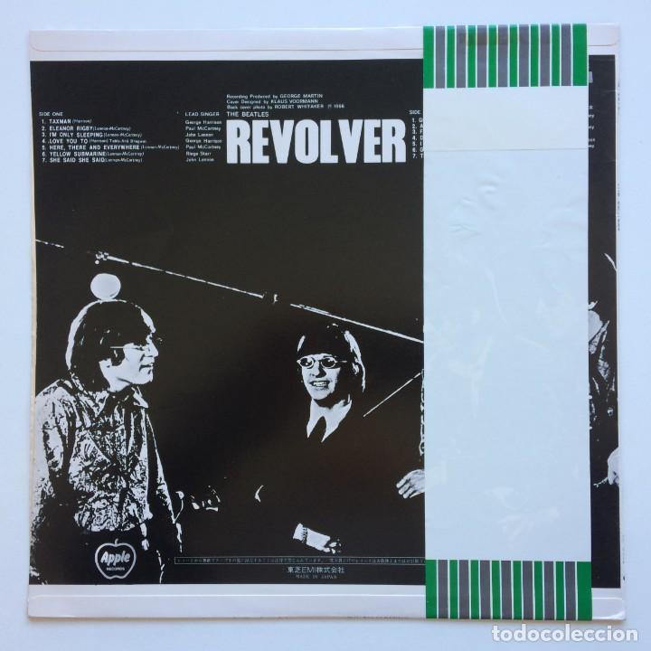 Discos de vinilo: The Beatles – Revolver Japan Apple Records - Foto 2 - 234833380