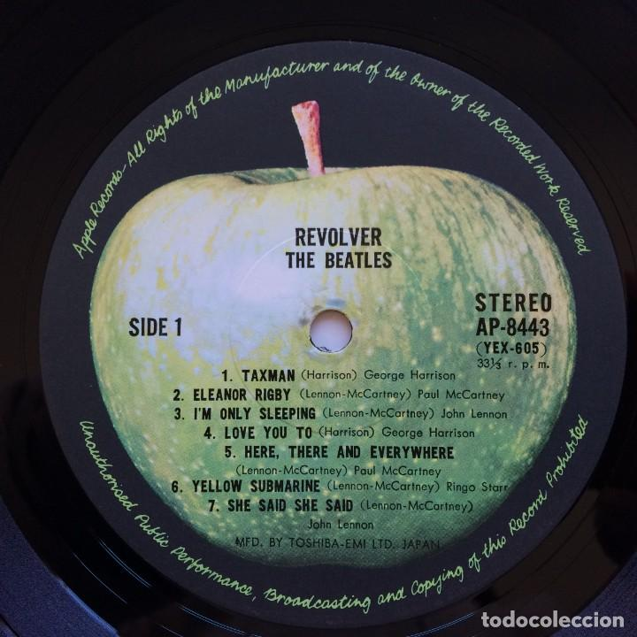Discos de vinilo: The Beatles – Revolver Japan Apple Records - Foto 3 - 234833380