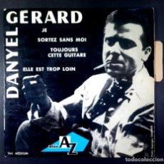 Discos de vinilo: DANYEL GERARD AVEC LES CHAMPIONS - JE - EP FRANCES 1963 - DISC AZ. Lote 234836040