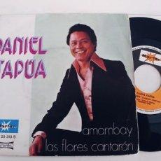Discos de vinilo: DANIEL ITAPUA-SINGLE AMAMBAY. Lote 234837485