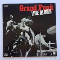 Discos de vinilo: GRAND FUNK RAILROAD – LIVE ALBUM 2 VINYLS JAPAN 1973 CAPITOL RECORDS. Lote 234840740