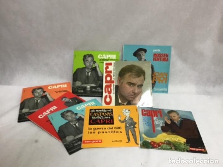 JOAN CAPRI, LOTE DE DISCOS (Música - Discos de Vinilo - EPs - Solistas Españoles de los 50 y 60)