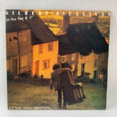 Discos de vinilo: SINGLE GILBERT O'SULLIVAN - IN THE KEY OF G - ESPAÑA - AÑO 1990. Lote 234844305