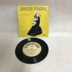 Discos de vinilo: CAPRICCIO ESPAGNOL, N. RIMSKI-KORSAKOV. Lote 234845575