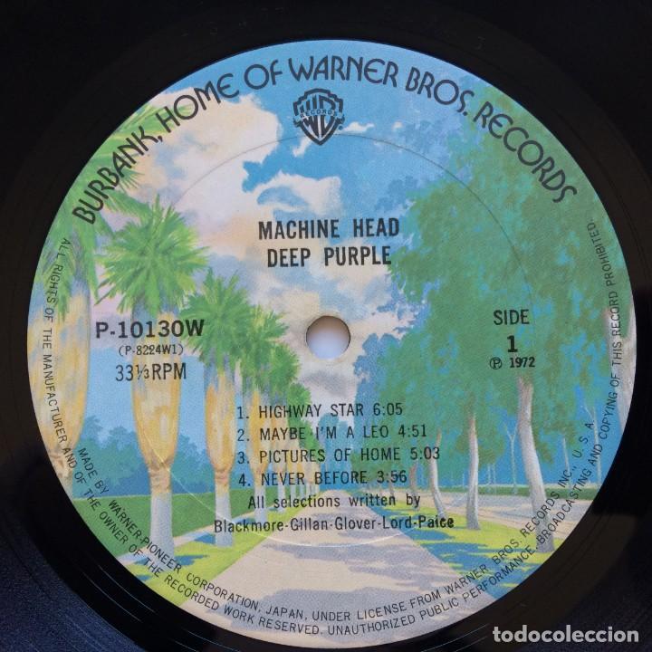 Discos de vinilo: Deep Purple – Machine Head Japan,1976 Warner Bros Records - Foto 8 - 234846335