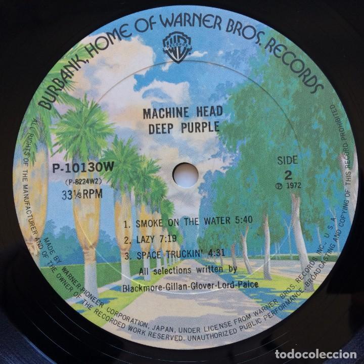 Discos de vinilo: Deep Purple – Machine Head Japan,1976 Warner Bros Records - Foto 9 - 234846335