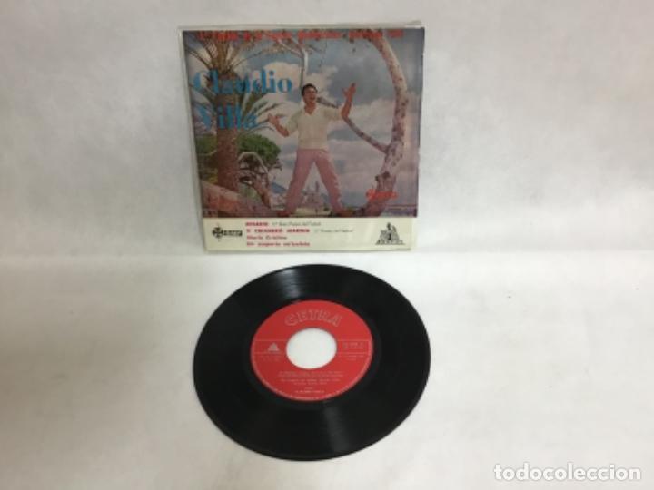 CLAUDIO VILLA, DISCO (Música - Discos de Vinilo - EPs - Cantautores Internacionales)