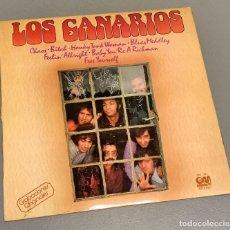 Discos de vinilo: NUMULITE LP004 LOS CANARIOS CHAOS BITCH HONKY TONK WOMAN. Lote 234866150