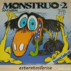 Discos de vinilo: MONSTRUO 2 - 2XLP - POLYGRAM 1984 - MIGUEL RIOS - AZUL Y NEGRO - CASAL - KISS - DIRE STRAITS .... Lote 234875445