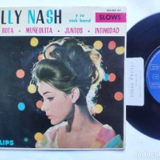 Discos de vinilo: BILLY NASH - EP SPAIN PS - MINT * CITA ROTA ( BROKEN DATE ) / LITTLE DOLL + 2. Lote 234890830