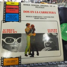 Disques de vinyle: MANCINI LP DOS EN LA CARRETERA B.S.O. 1982 ESPAÑA. Lote 234894780