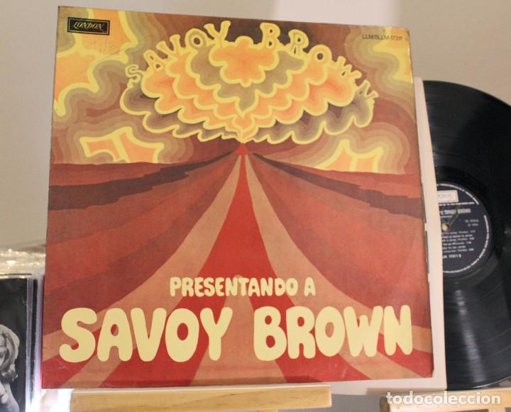 DISCO LP -. SAVOY BROWN - PRESENTANDO A - PROMOCIONAL - VINILO ARGENTINO - EXC (Música - Discos - LP Vinilo - Pop - Rock - Extranjero de los 70)