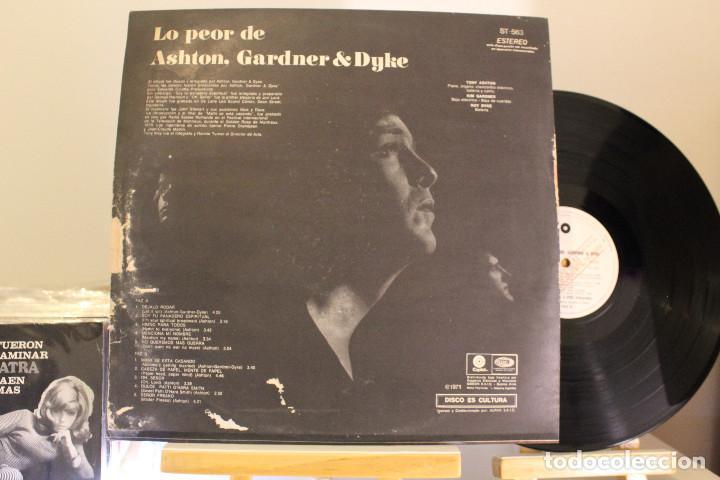 Discos de vinilo: DISCO LP - ASHTON GARDNER & DYKE - LO PEOR DE - PROMOCIONAL - VINILO ARGENTINO - EXC - Foto 2 - 234902350