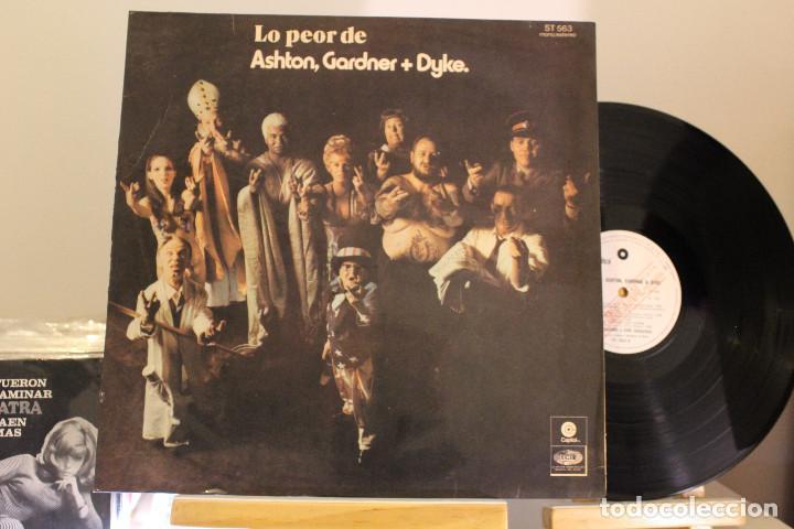 DISCO LP - ASHTON GARDNER & DYKE - LO PEOR DE - PROMOCIONAL - VINILO ARGENTINO - EXC (Música - Discos - LP Vinilo - Pop - Rock - Extranjero de los 70)